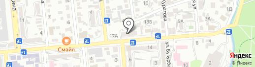 Территориальная инспекция Комитета ветеринарного контроля и надзора по г. Алматы на карте Алматы