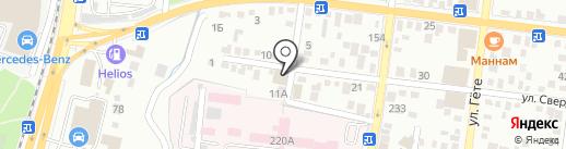 Иридоскрин на карте Алматы
