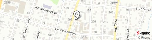 Ровный на карте Алматы