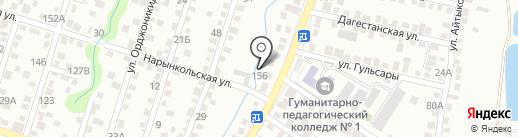 Мастерская по производству бильярдных киев на карте Алматы