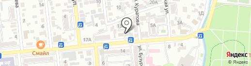Юникс Мед на карте Алматы