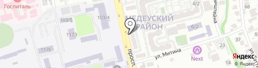 Н.И.С Строй Стоун, ТОО на карте Алматы