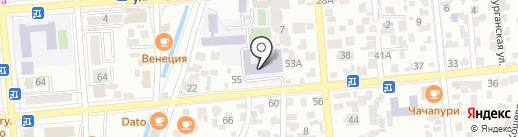 Алматинская областная школа-интернат им. И. Нусупбаева на карте Алматы