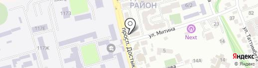 KYZYM.KZ на карте Алматы