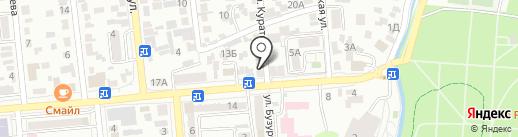 Банный комплекс на карте Алматы