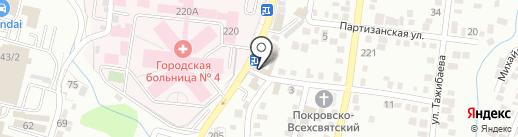 NEKAR на карте Алматы