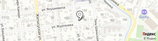 Daiso на карте Алматы