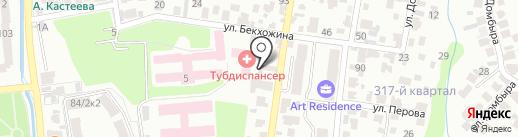 Приемник-распределитель ДВД г. Алматы на карте Алматы