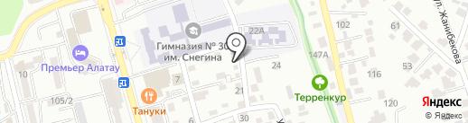 Rescue Telecom Solutions, ТОО на карте Алматы