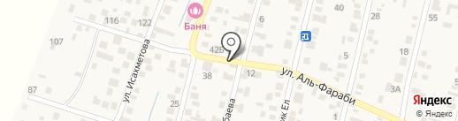 Жэпек на карте Ынтымака
