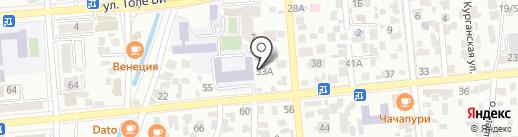 Clean & Go на карте Алматы