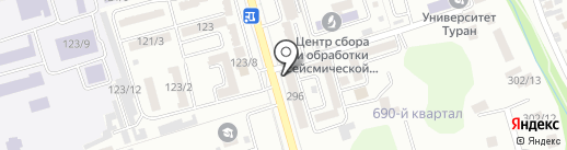 ИМПЕРИЯ EXCHANGE на карте Алматы