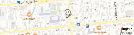 Аламсервис на карте Алматы
