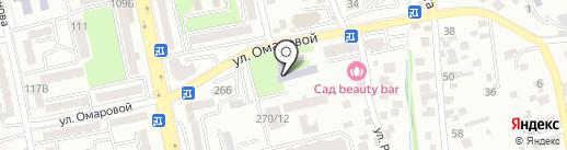 Общеобразовательная школа-интернат №17 на карте Алматы