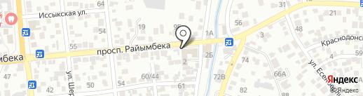 MGM-STAN на карте Алматы