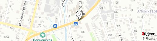 Светофор 24 на карте Алматы