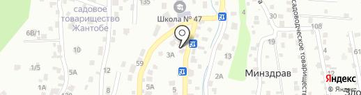 Магазин строительных и хозяйственных товаров на карте Алматы