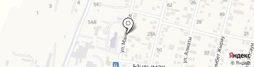 Жулдыз на карте Ынтымака