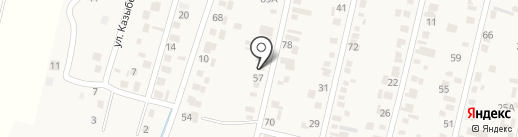 Гермес на карте Ынтымака