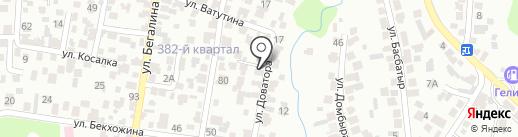 AQUABABY.KZ на карте Алматы