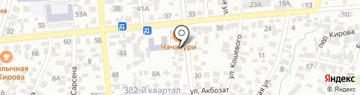 UniLes, ТОО на карте Алматы
