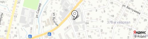 СТАНДАРТ К.М.А-ГРУП, ТОО на карте Алматы