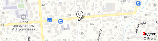 Адия на карте Алматы