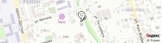 Алтай Полиметаллы, ТОО на карте Алматы