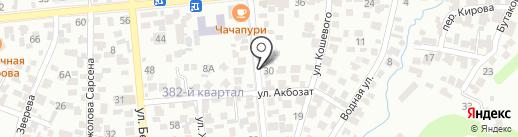 ХАБ КЗ на карте Алматы