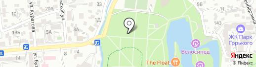 Scorpion на карте Алматы