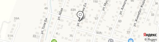 Асем Ай на карте Ынтымака