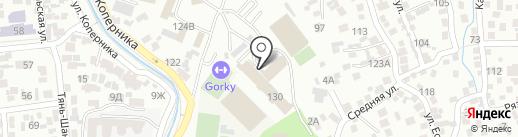 Меркурий Медет на карте Алматы
