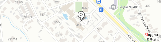 Organic на карте Алматы