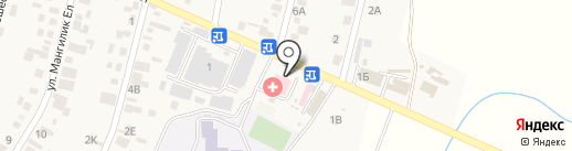 Врачебная амбулатория с. Ынтымак на карте Ынтымака