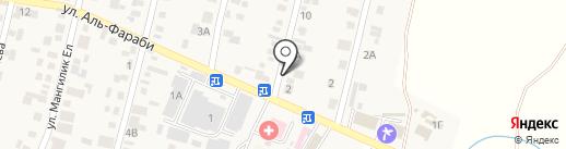 Бэрлек на карте Ынтымака