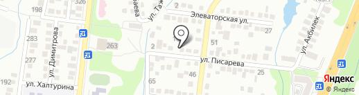 Умный Мастер на карте Алматы