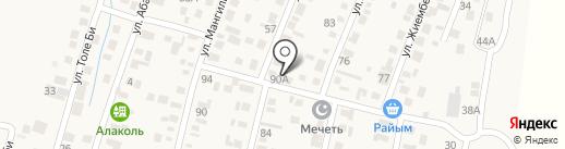 Албан на карте Ынтымака