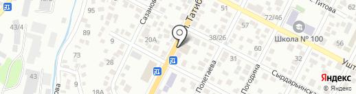 Эстель на карте Алматы