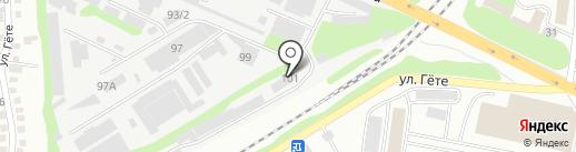 G-Line на карте Алматы