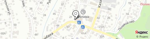 Причал на карте Алматы