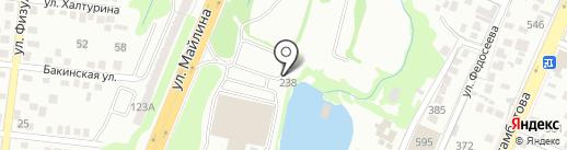 Алтын Коль на карте Алматы