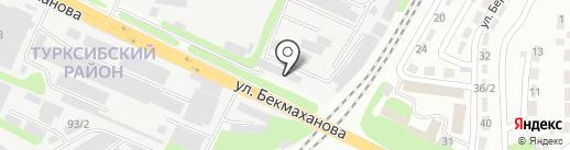 Эмиталь-Проект на карте Алматы