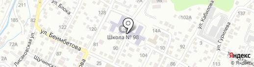 Детская музыкальная школа №8 на карте Алматы