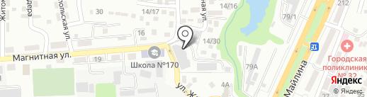 Алем ТАТ на карте Алматы