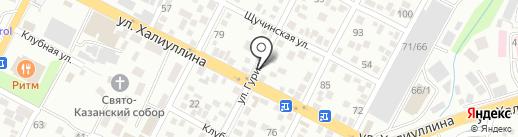 Автомаляр на карте Алматы