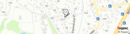 Транс Аlеx на карте Алматы