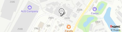 Lanfi на карте Алматы