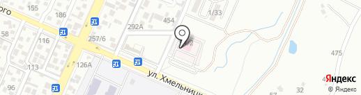 Городская поликлиника №28 на карте Алматы