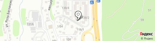 Tengiz Invest Stroy на карте Алматы