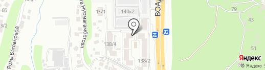 Бар Сервис, ТОО на карте Алматы